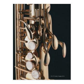 Saxophone 5 cartes postales