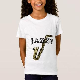 Saxophone bariolé T-Shirt