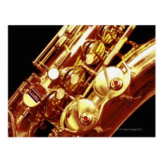 Saxophone Carte Postale