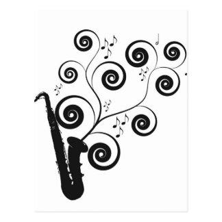 Saxophone Cartes Postales