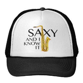 Saxy et moi le savent casquette trucker