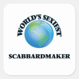 Scabbardmaker le plus sexy du monde autocollant carré
