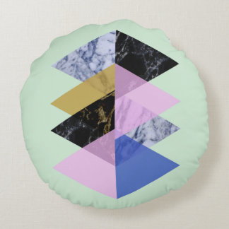 Scandinave #886 abstrait coussins ronds