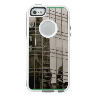 scape original de ville artistique, cas unique de coque OtterBox iPhone 5, 5s et SE
