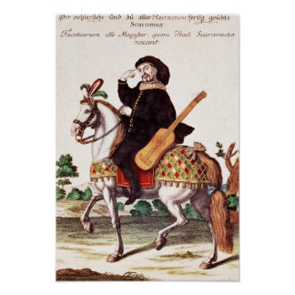 Scaramouche à cheval posters