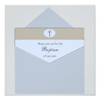 Scellé avec un bleu de bénédiction - invitation