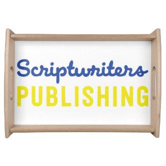 Scénaristes éditant le plateau de portion