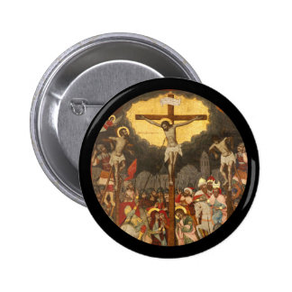 Scène 1711 de crucifixion badge