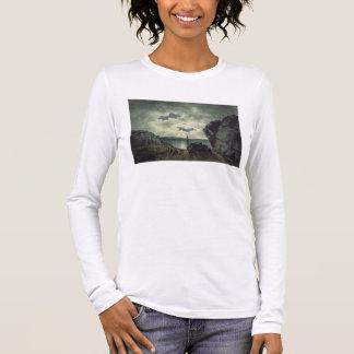 Scène de baie dans le clair de lune, 1787 (la t-shirt à manches longues