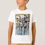 Scène de graffiti de New York T-shirts