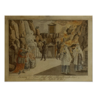 """Scène """"de la cannelure magique"""" par Mozart, 1795 Posters"""