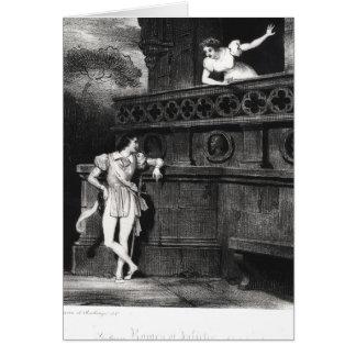 Scène de l'acte III de 'Romeo et de Juliet Cartes