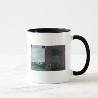 Scène de paysage et de rue mug