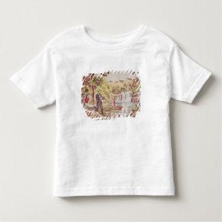 Scène de pêche t-shirt pour les tous petits