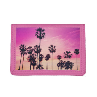 Scène de plage de coucher du soleil, ciel tropical
