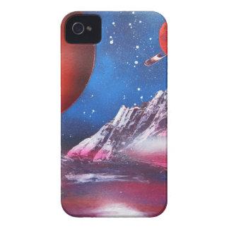 Scène de planètes d'espace extra-atmosphérique coques iPhone 4 Case-Mate