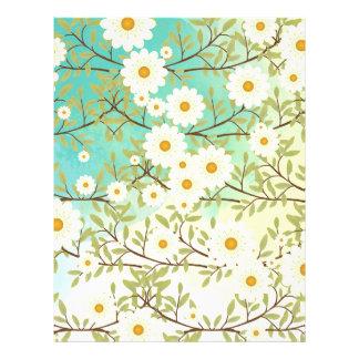 Scène de printemps prospectus 21,6 cm x 24,94 cm