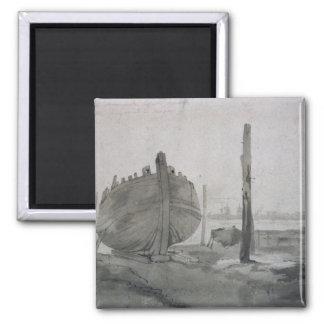 Scène de rivière de John Constable | avec le Magnet Carré