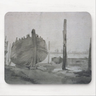 Scène de rivière de John Constable | avec le Tapis De Souris