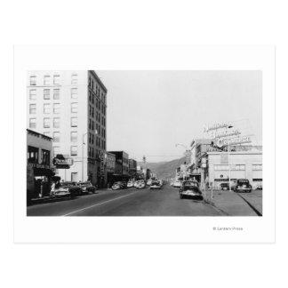 Scène de rue à Aberdeen, photographie de WA Carte Postale