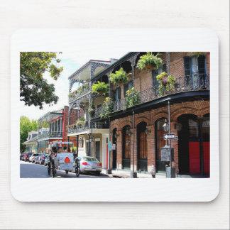 Scène de rue de la Nouvelle-Orléans Tapis De Souris