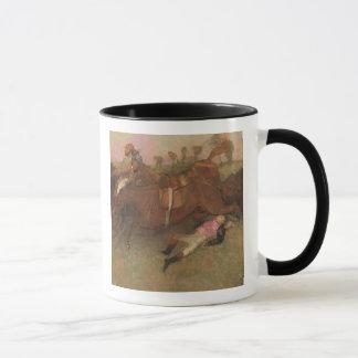 Scène d'Edgar Degas | de la course d'obstacles Tasses