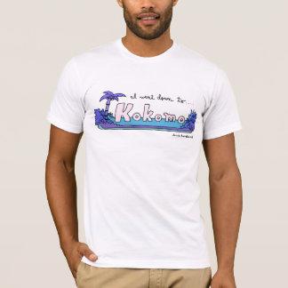 Scène d'île de Kokomo T-shirt