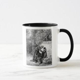 """Scène """"du givre du marin antique"""", mug"""