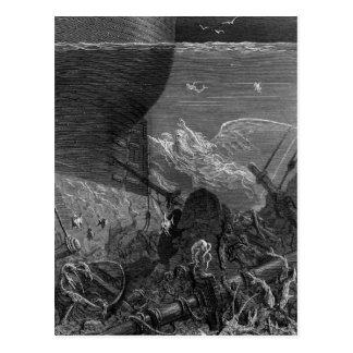 Scène 'du givre du Mariner antique Carte Postale
