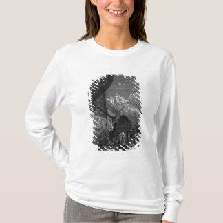 Scène 'du givre du Mariner antique T-shirt