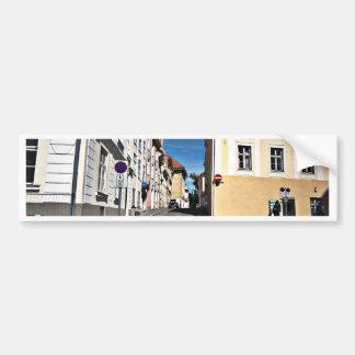 Scène Estonie de rue Autocollant De Voiture