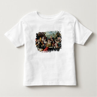 Scène Galante aux portes de Paris T-shirt Pour Les Tous Petits