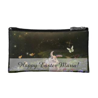 Scène magique de lapin de Pâques d'imaginaire Trousses Make-up