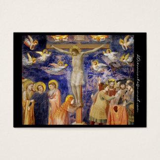 Scène médiévale de Vendredi Saint Cartes De Visite