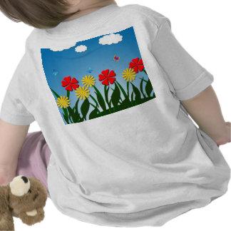 Scène naïve de nature t-shirt