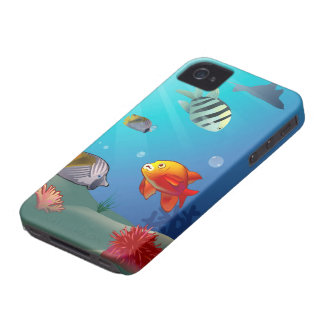 Scène sous-marine coque iPhone 4