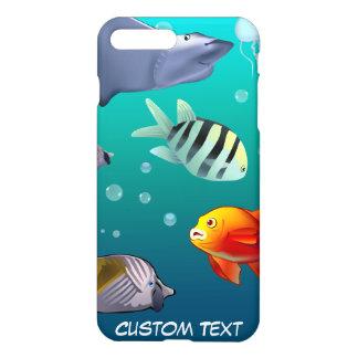 Scène sous-marine coque iPhone 7 plus