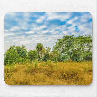 Scène tropicale de paysage de pré, Guayaquil Tapis De Souris