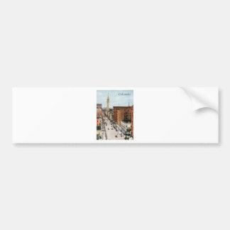 Scène vintage de rue du Colorado Adhésifs Pour Voiture