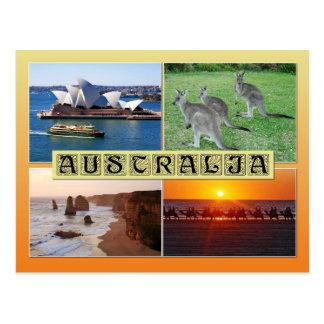 Scènes d'Australie Carte Postale