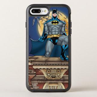 Scènes de Batman - vue de face de lune Coque OtterBox Symmetry iPhone 8 Plus/7 Plus
