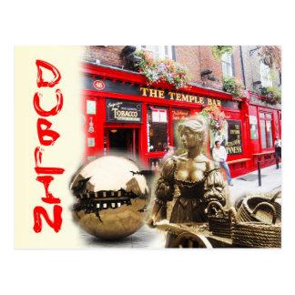 Scènes de Dublin, Irlande Carte Postale