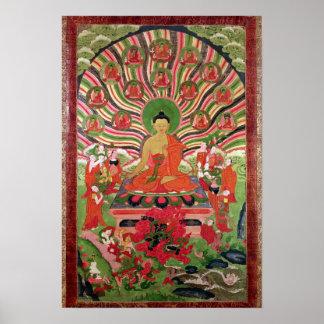 Scènes de la vie de Bouddha Posters