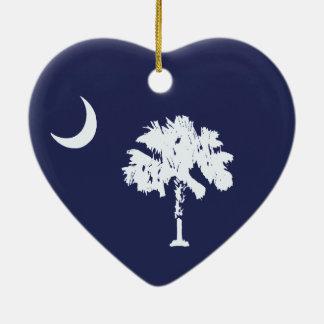 SCflag Ornement Cœur En Céramique
