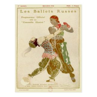 Schéhérazade, Léon Bakst et les ballets Russes Carte Postale