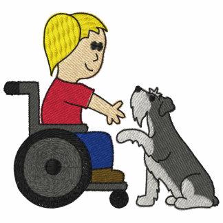Schnauzer de chien de thérapie