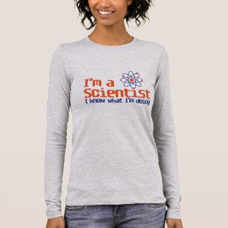 """""""Scientifique """" T-shirt À Manches Longues"""