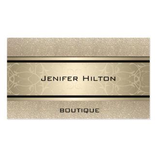 Scintillant de luxe moderne élégant professionnel carte de visite standard