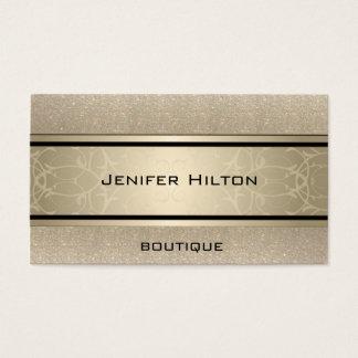 Scintillant de luxe moderne élégant professionnel cartes de visite