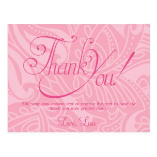 Scintillement, cartes de Merci de sweet sixteen